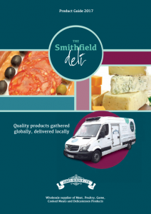 The Smithfield Deli 2017 Product Guide